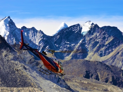 Everest Heli Ride Nepal Trekking Guide