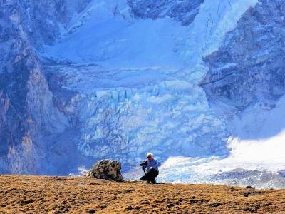 Ted at Kalapatthar Nepal Trekking Guide