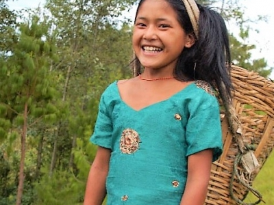smile in indigenous trail