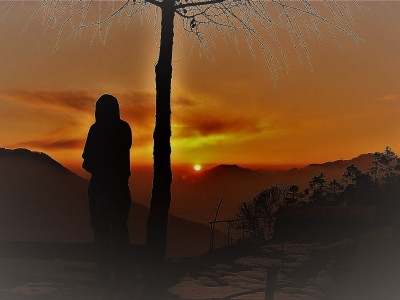 Sunset from Singgompa