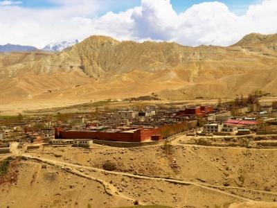 Lo Mustang Palace Surrounding