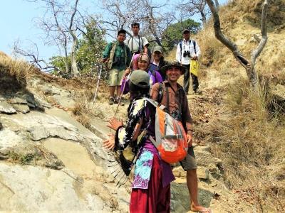 Nature Conservation Awareness Hiking